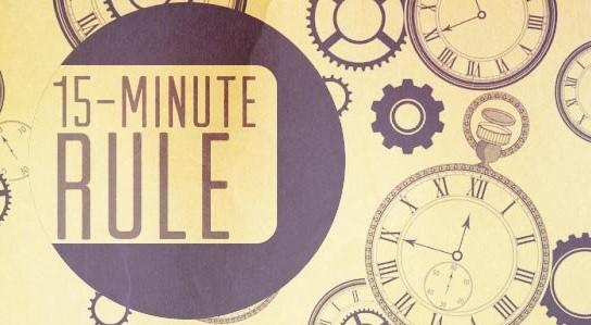 قانون 15 دقیقه
