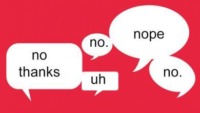 تصویر از چگونه «نه» بگوییم؟