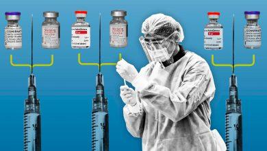 تصویر از چه کشورهایی از ترکیب واکسنهای مختلف استفاده میکنند؟